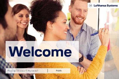 Prezentacja z działań prozdrowotnych firmy Lufthansa Systems